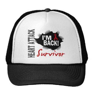 Survivor 7 Heart Attack Hats