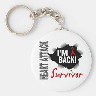 Survivor 7 Heart Attack Key Chain