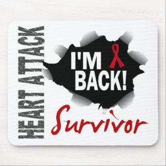 Survivor 7 Heart Attack Mousepads
