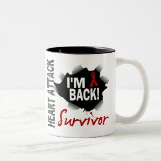 Survivor 7 Heart Attack Two-Tone Mug
