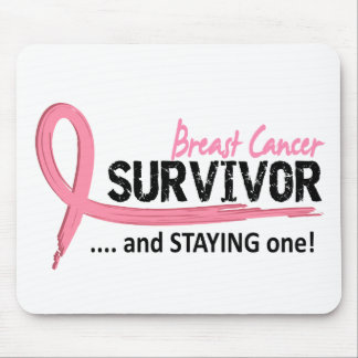 Survivor 8 Breast Cancer Mouse Pads