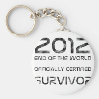 Survivor Basic Round Button Key Ring