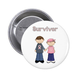 Survivor Cartoon Buttons