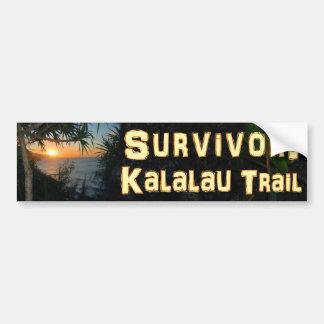 Survivor: Kalalau Trail Bumper Sticker