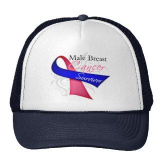Survivor - Male Breast Cancer Mesh Hat