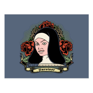Survivor Nun Postcard