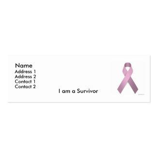 Survivor Profile Card Business Card Templates