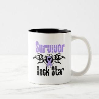 Survivor Rock Star - Cancer Survivor Coffee Mugs