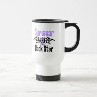 Survivor Rock Star - Cancer Survivor Mug