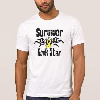 Survivor Rock Star - Testicular Cancer Survivor T-Shirt