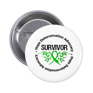 Survivor Traumatic Brain Injury 6 Cm Round Badge