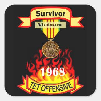 Survivor Vietnam Tet Offensive Stickers