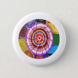 Surya Chakra - Sun Source Energy 6 Cm Round Badge