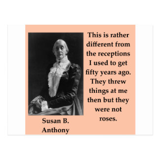 susan b anthony postcard
