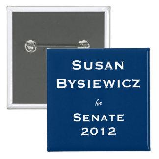 Susan Bysiewicz for Senate Pinback Buttons
