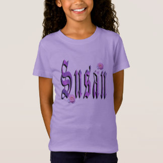 Susan, Name, Logo,  Girls Moave T-shirt. T-Shirt