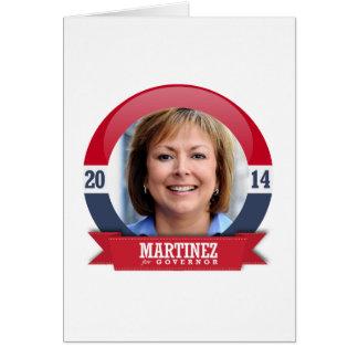 SUSANA MARTINEZ CAMPAIGN CARD