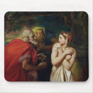 Susanna and the Elders, 1856 Mouse Pads