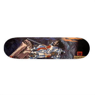 Susanoo Slaying the Yamata No Orochi 21.6 Cm Skateboard Deck