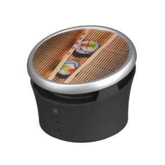 Sushi and wooden chopsticks speaker
