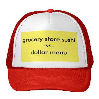 sushi cap
