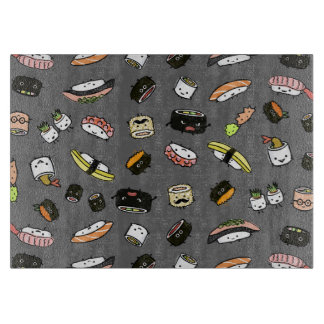 Sushi Characters Pattern Cutting Board