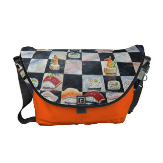 Sushi Chess Bag Commuter Bags