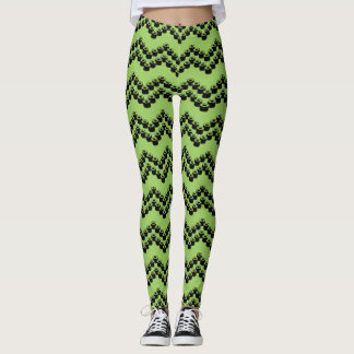 Sushi Chevron Leggings