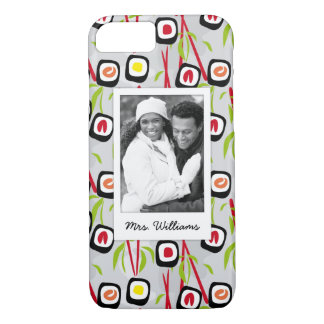 Sushi Design Pattern | Monogram iPhone 8/7 Case