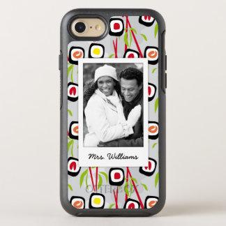 Sushi Design Pattern | Monogram OtterBox Symmetry iPhone 8/7 Case