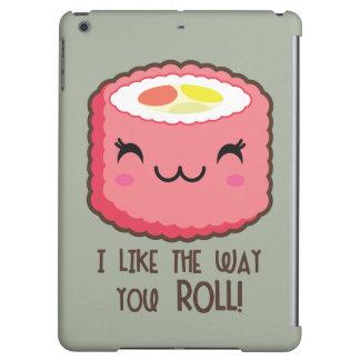 Sushi Emoji Roll iPad Air Cover