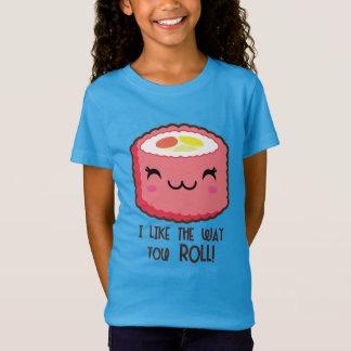 Sushi Emoji Roll T-Shirt