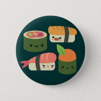 Sushi Friends 6 Cm Round Badge