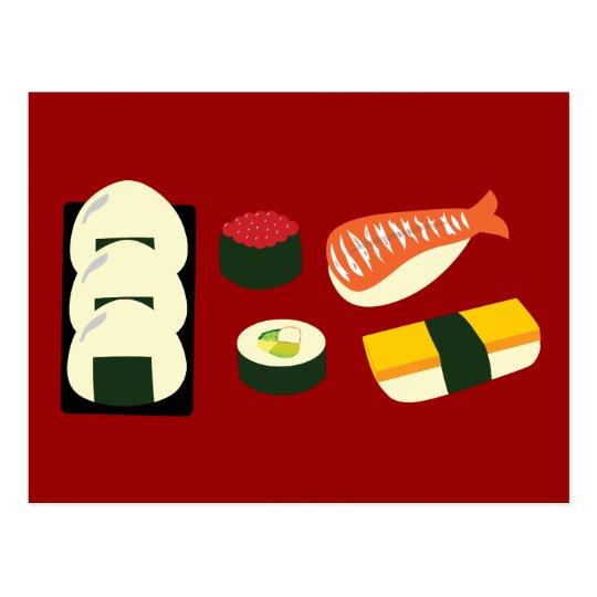 Sushi Fun Postcard