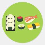 Sushi Fun Stickers