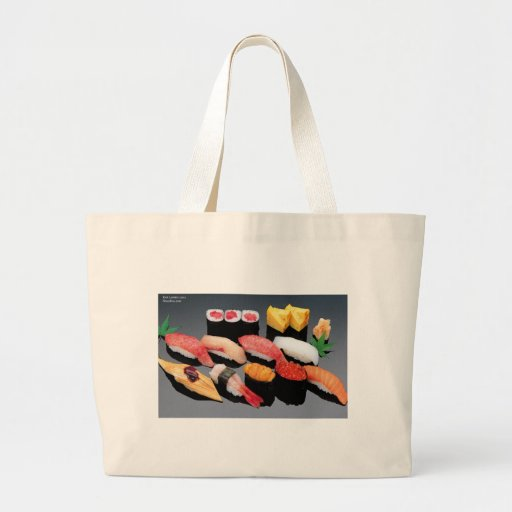 Sushi Gifts Tees Mugs Cards & More! Canvas Bag