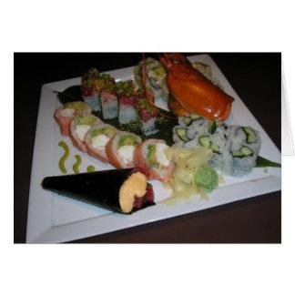 """""""Sushi"""" Greeting Card"""