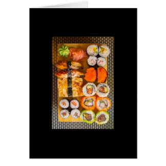 Sushi 🍣 greeting card