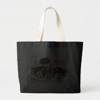 Sushi Hand Roll Gifts Tees Mugs Etc by Rick London Canvas Bag