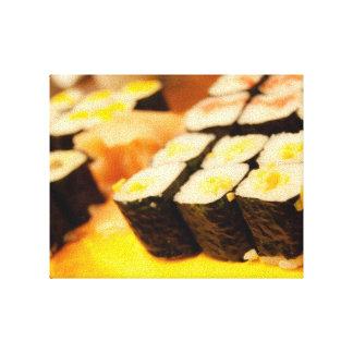Sushi, Japanese Cuisine Canvas Print