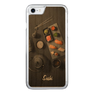 Sushi Japanese Ritual Carved iPhone 7 Case