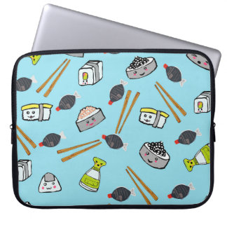 Sushi kawaii cute case Laptop case