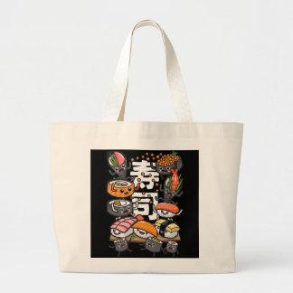 Sushi Large Tote Bag