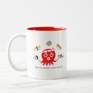 sushi lover 11 oz. White Mug