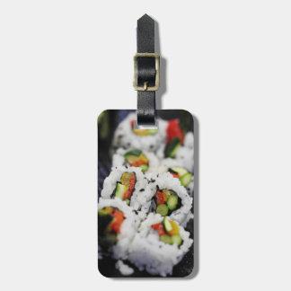 Sushi Luggage Tag