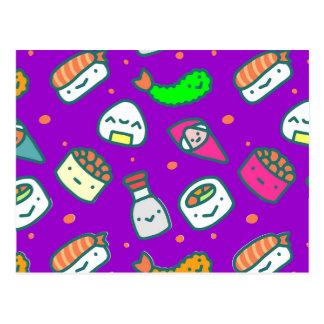 Sushi Moki Postcard