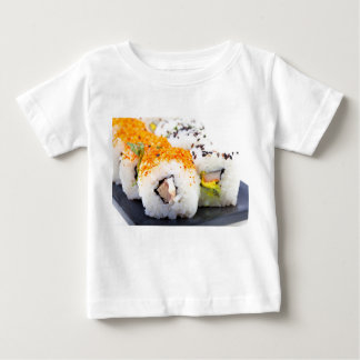 Sushi on a plate baby T-Shirt