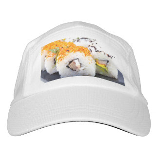 Sushi on a plate hat