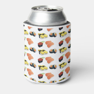 Sushi pattern can cooler