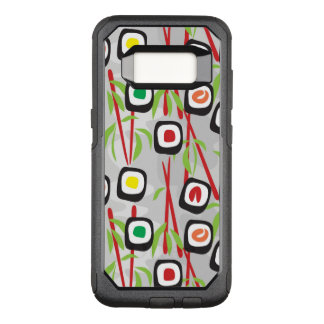 Sushi Pattern OtterBox Commuter Samsung Galaxy S8 Case